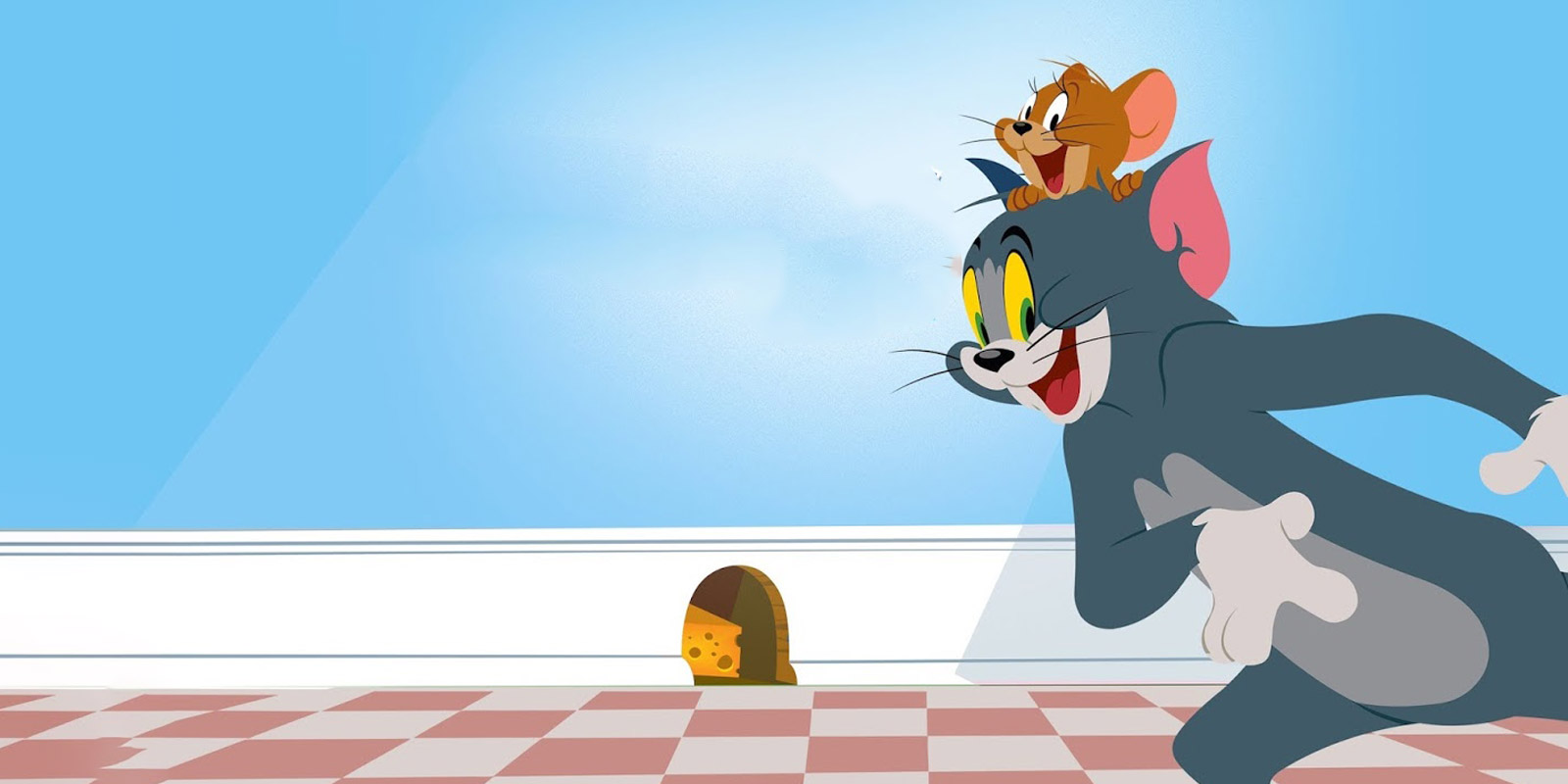 BANNER TOM AND JERRY SHOW