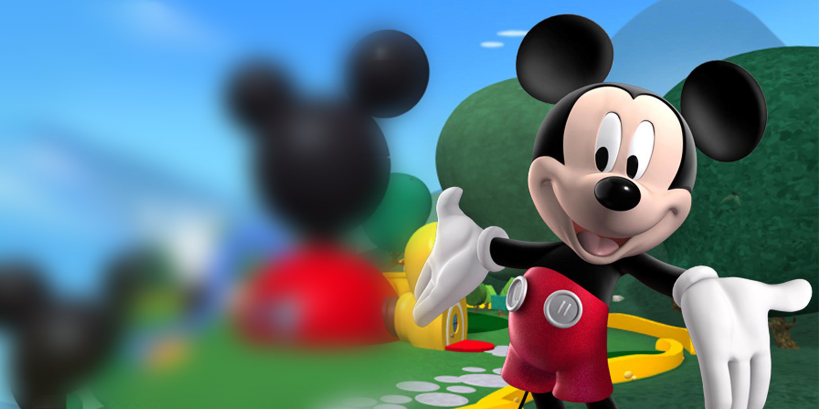 BANNER MICKEY