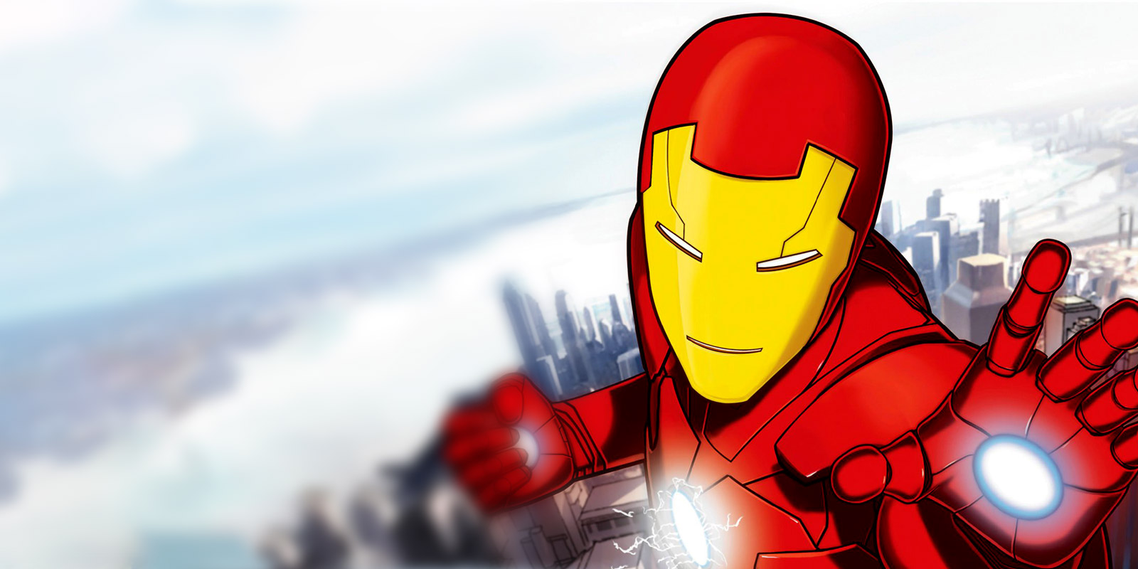 BANNER IRON MAN ARMORED ADVENTURES